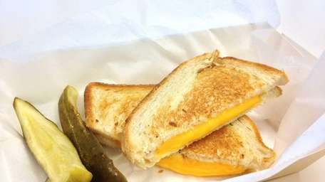 Even a cafeteria grilled cheese makes a satisfying