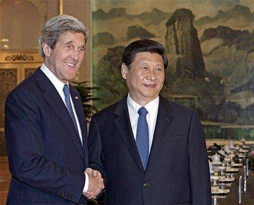 Secretary of State John Kerry and Chinese President
