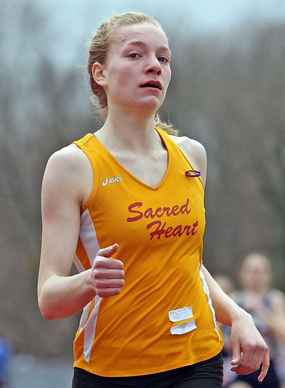 Sacred Heart's s Rosalie Caracciolo takes first in