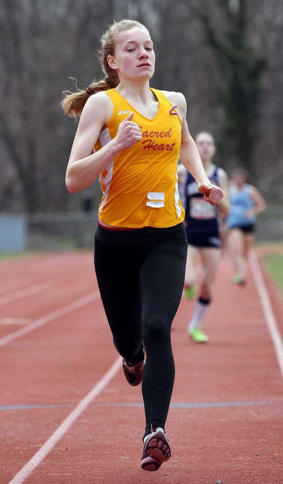 Sacred Heart's Rosalie Caracciolo takes first in the