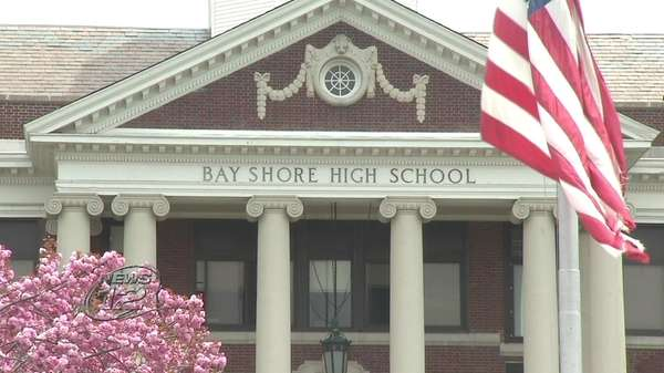 Dozens of teachers in the Bay Shore School