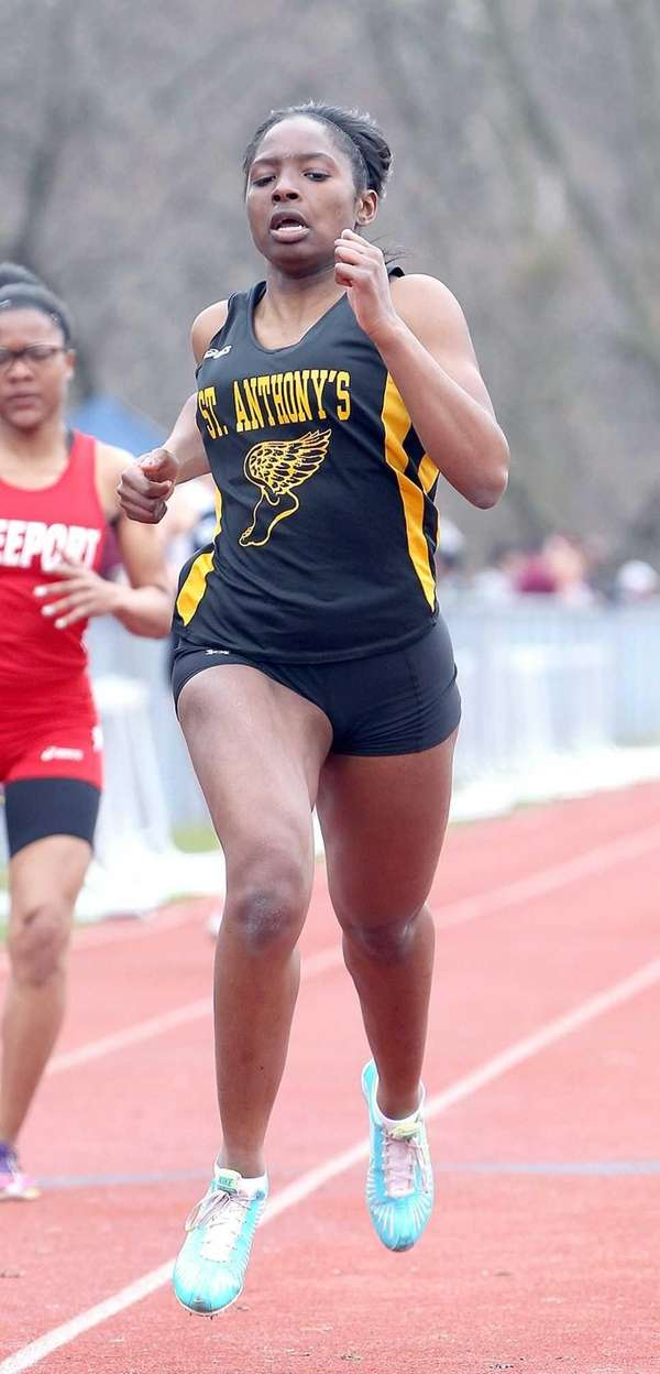 St. Anthony's Melissa June takes first in the