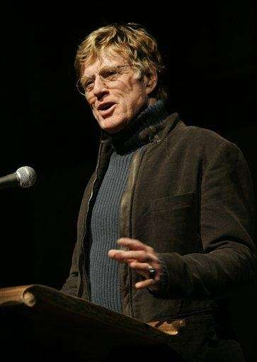 Actor Robert Redford has criticized President Barack Obama