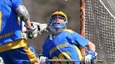 Comsewogue's Jake McGregor makes a save during his