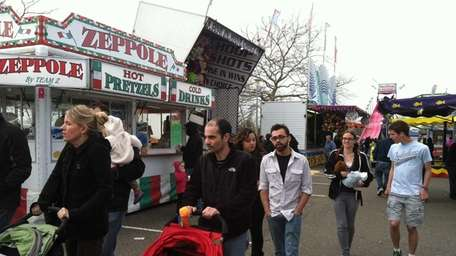 Families turn out for the Wantagh Park Family