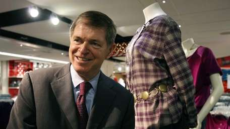 Former J.C. Penney chief executive Myron Ullman, was