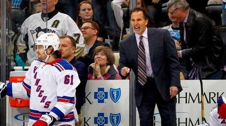 Coach John Tortorella and the Rangers are currently