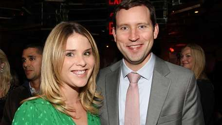 Jenna Bush Hager and her husband, Henry Chase