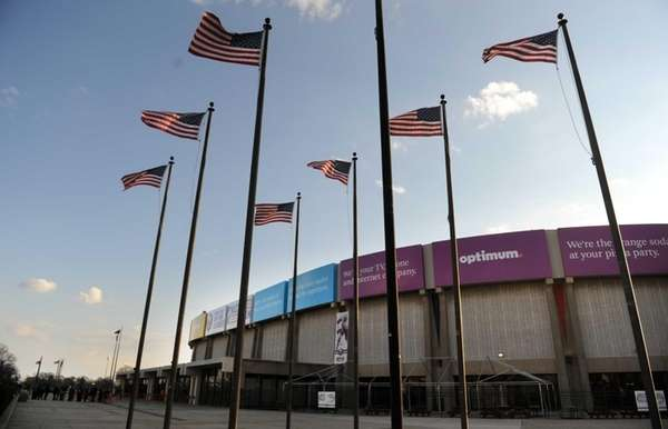 The Nassau Veterans Memorial Coliseum in Uniondale. (March