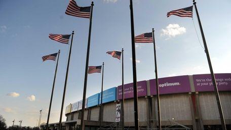 The Nassau Veterans Memorial Coliseum in Uniondale. (March