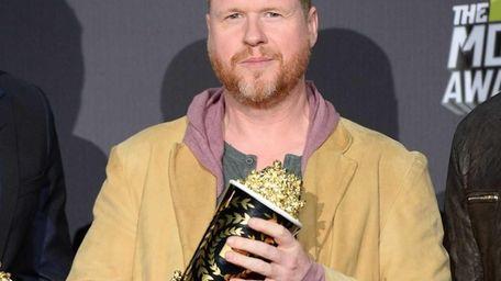 Director/writer Joss Whedon, winner of movie of the