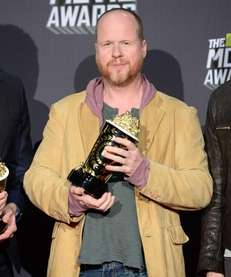 Director/writer Joss Whedon, winner of movie of the