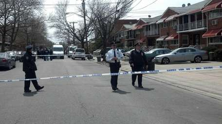 A New York City police officer shot her