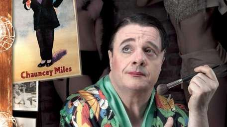 Nathan Lane as a burlesque show performer in