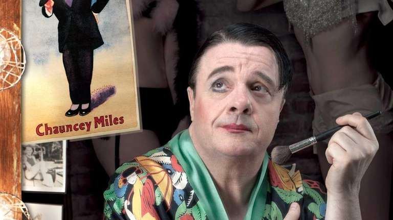 Nathan Lane as a burlesque show performer in