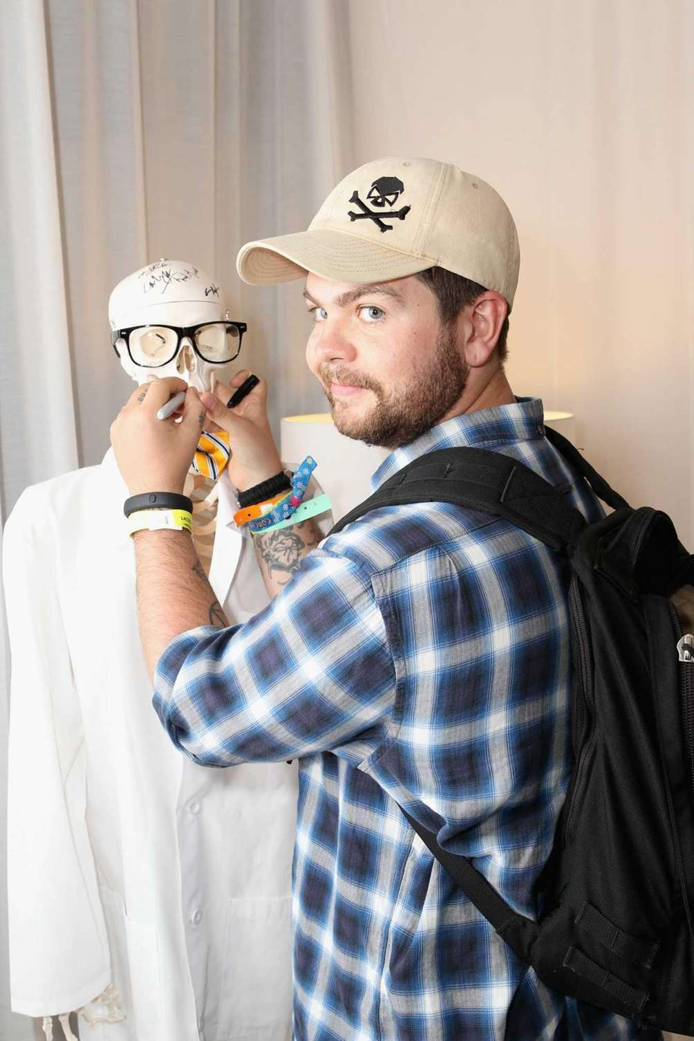 Jack Osbourne attends LACOSTE L!VE 4th Annual Desert