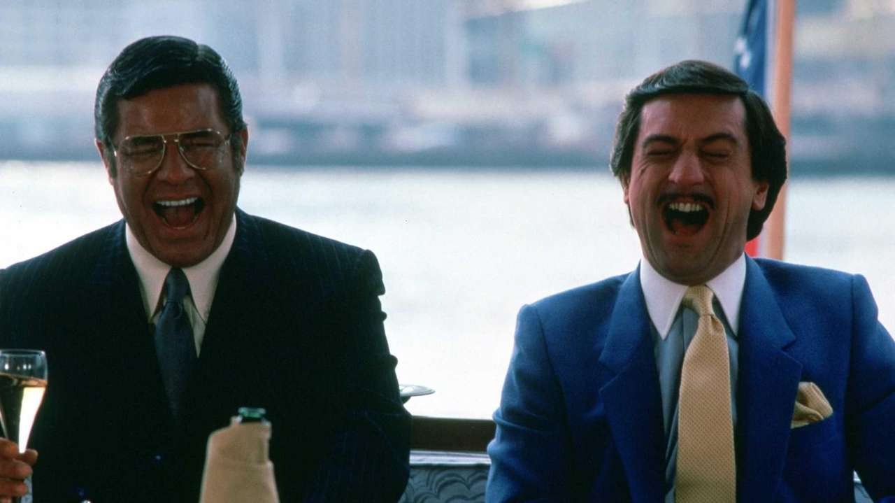 Jerry Lewis and Robert De Niro in