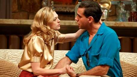 Marin Ireland, left, and Bobby Cannavale in a
