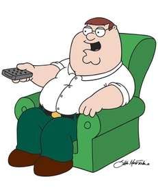 """Family Guy"" patriarch Peter Griffin."