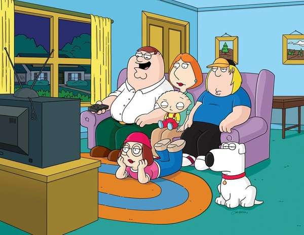 "The Fox animated series ""Family Guy."""
