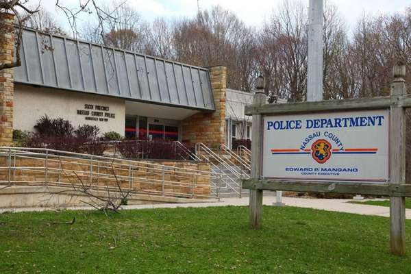 The Nassau Police Sixth Precinct in Manhasset. (April