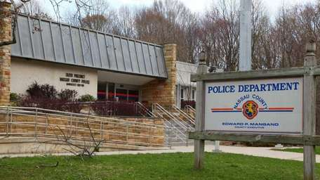 The Nassau Police Sixth Precinct in Manhasset. (April