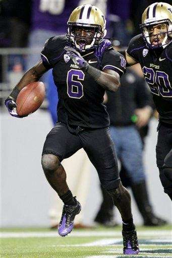 Washington's Desmond Trufant, left, and Justin Glenn celebrate