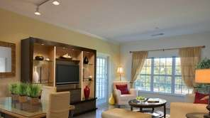 This one-bedroom unit in the rental complex at