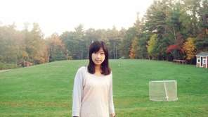 Lu Lingzi,, a Chinese graduate student at Boston