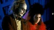 Michael Keaton and Winona Ryder in quot;Beetlejuicequot;