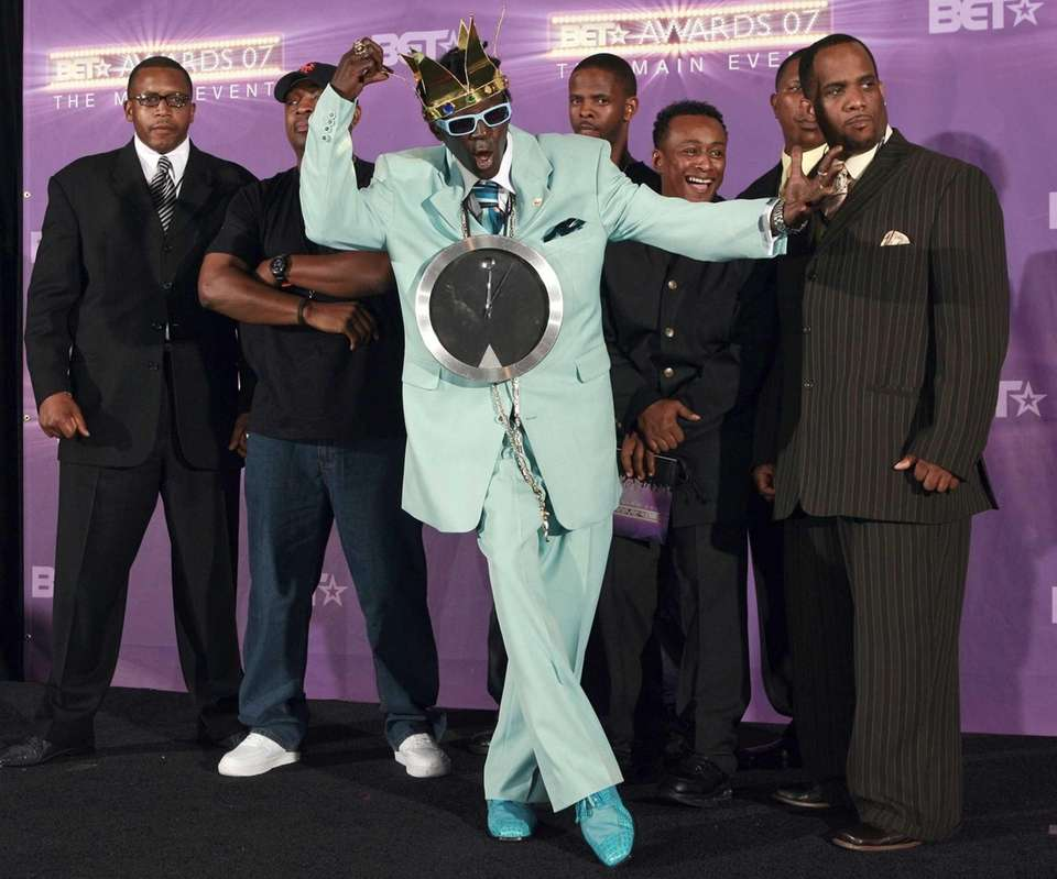 Public Enemy shows off at the BET Awards
