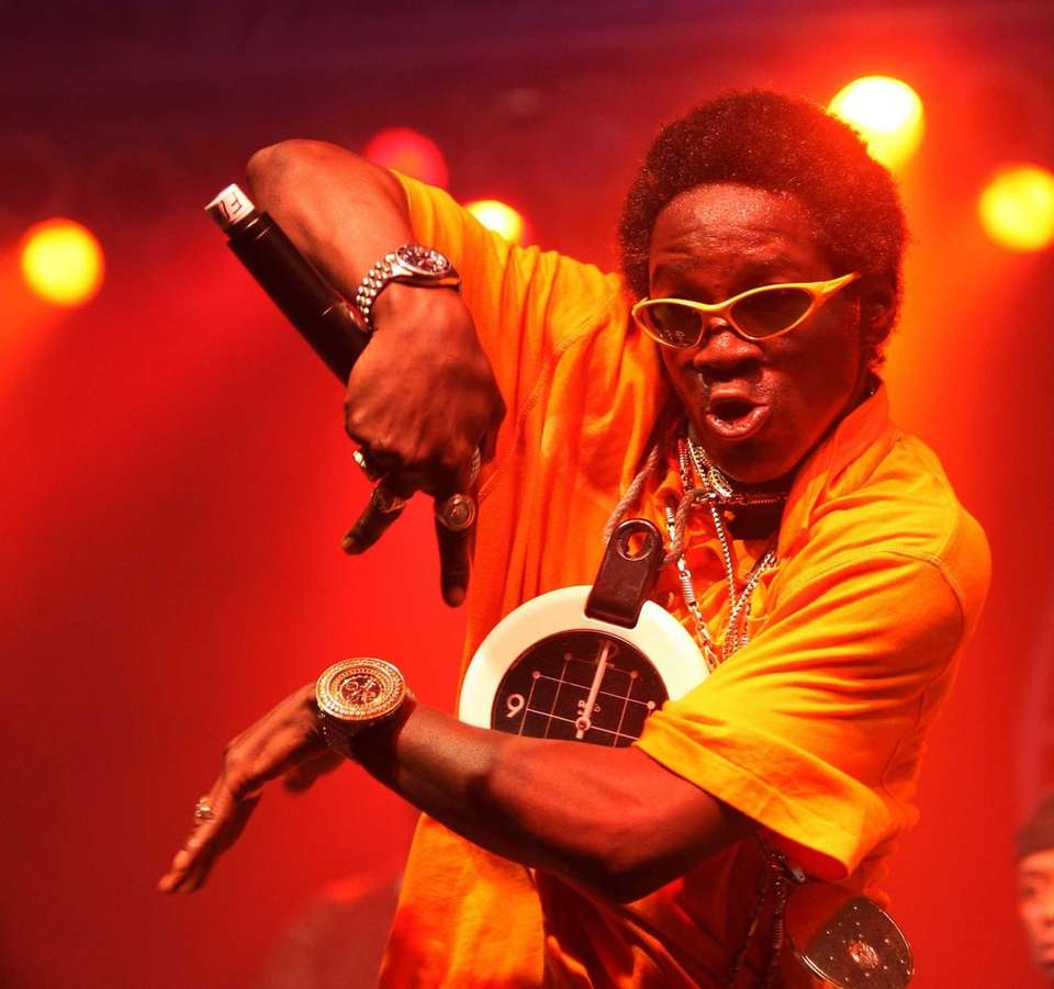 Flavor Flav performs with Public Enemy at Bonaroo