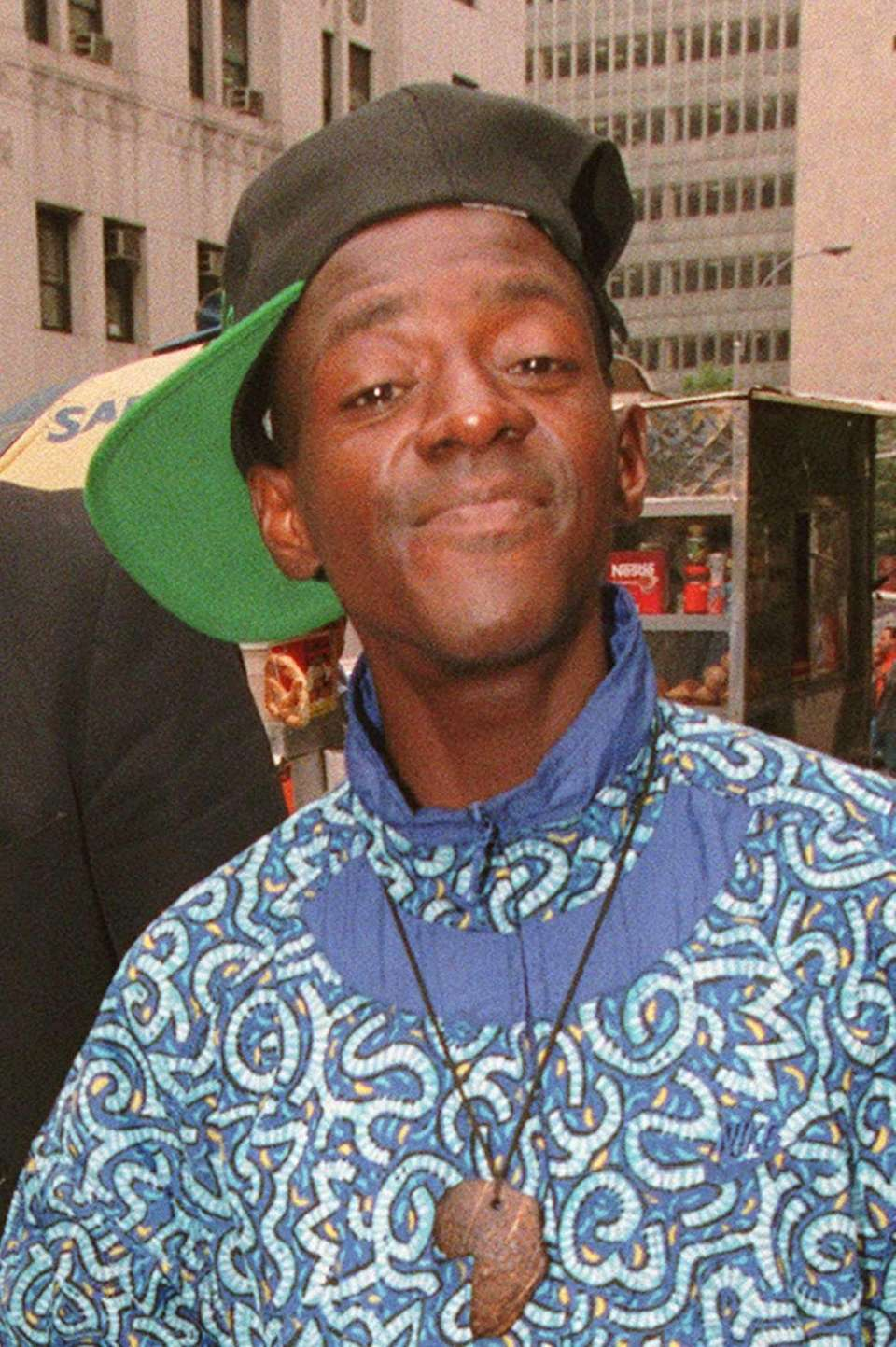 Rapper Flavor Flav, AKA William Drayton, is photographed