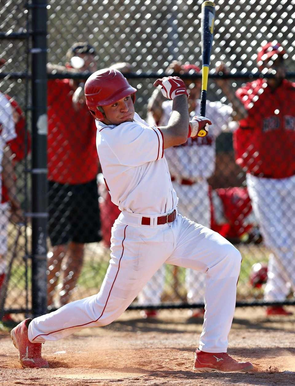 East Islip shortstop Paul Dondero hits an RBI