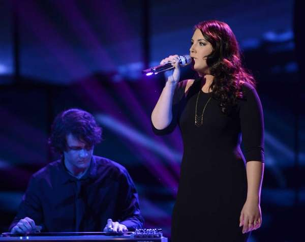 """American Idol"" - Kree Harrison performs. (April 10,"