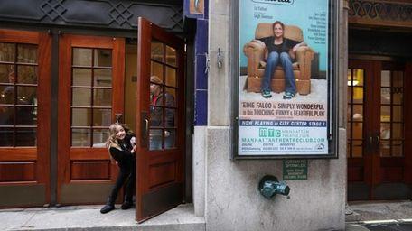 Brooke Ashley Laine, 6, peeks out of City