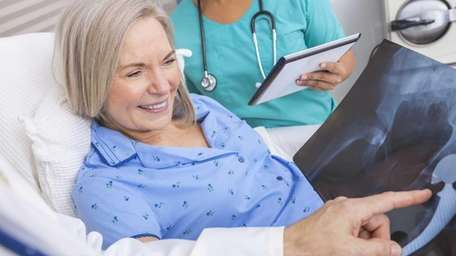 Osteopenia, or lower-than-normal bone density, is frequently found