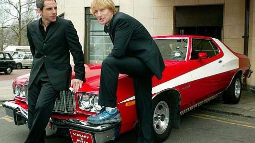 Actors Owen Wilson, right, and Ben Stiller, who
