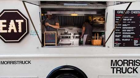 The Morris Grilled Cheese truck will be at