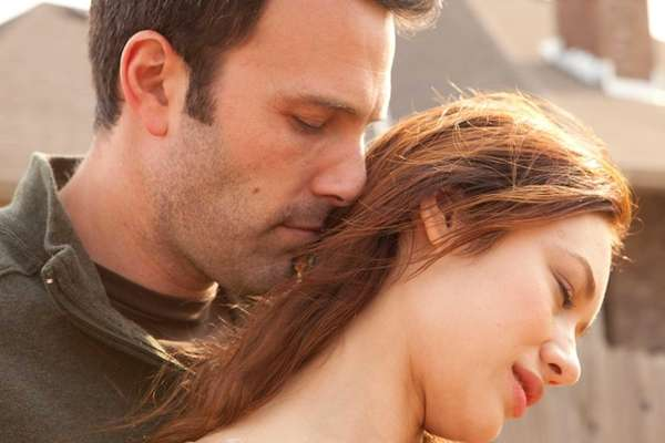 "Ben Affleck and Olga Kurylenko in ""To the"