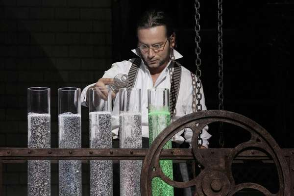 "Constantine Maroulis during a performance of ""Jekyll &"