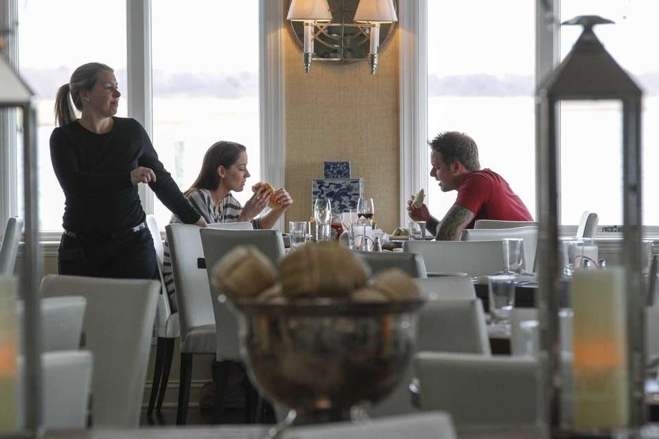 View in Oakdale is a modern, nautical restaurant