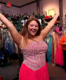 "Danielle Trotta of Seaford is Newsday's ""Project Prom"""