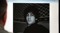 A photo of Dzhokhar Tsarnaev, who authorities say