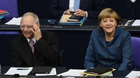 German Chancellor Angela Merkel faced a quandary over
