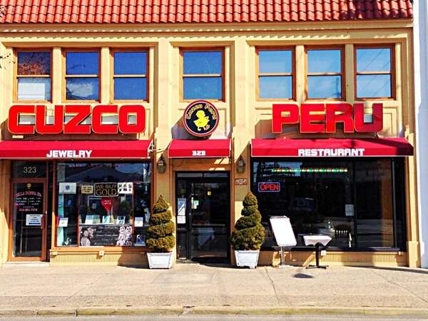 Exterior of the new Cuzco Peru in Lynbrook.