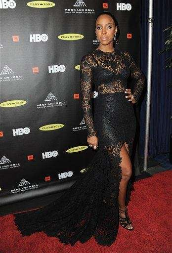 Kelly Rowland attends the Rock and Roll Hall