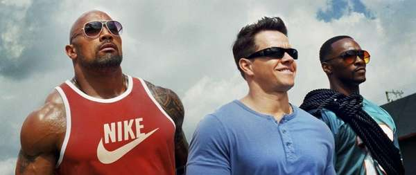 "quot;Pain & Gain"" (April 26). Mark Wahlberg and"