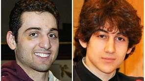 This combination of undated photos shows brothers Tamerlan