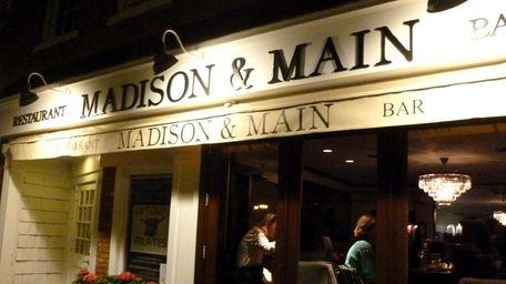 Madison & Main in Sag Harbor. (April 18,